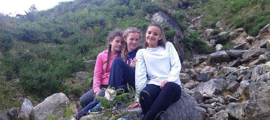 de excursión en Dublin Mountains