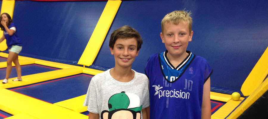 At jumpZone with Jack