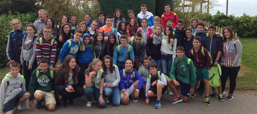 group at Tayto Park